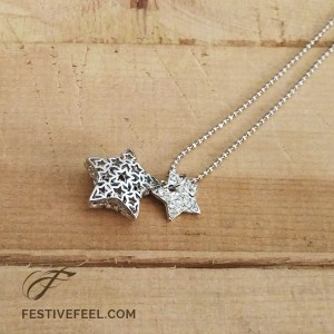 Wish upon a star pendant necklace